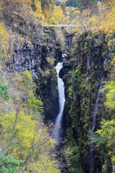 The Falls of Measach in the Corrieshalloch Gorge, south of Ullapool in the Scottish Highlands. by Andrew Ray on 500px
