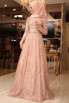 Best Beautiful Party Dress Model Ideas for You to Try - Fashions Nowadays Party hijab styles Hijab Evening Dress, Hijab Dress Party, Evening Dresses, Dress Brukat, Abaya Fashion, Muslim Fashion, Fashion Dresses, Beautiful Party Dresses, Cute Dresses For Party
