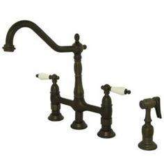 Oil rubbed Bronze Kitchen Faucet Kitchen