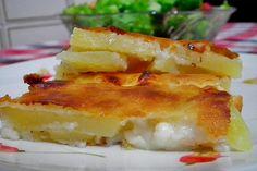 Peynirli Patates Katığı