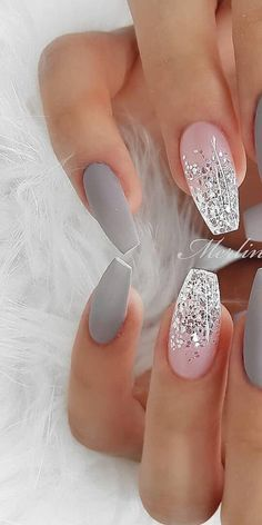 img) Want to see new nail art? These nail designs are really great Picture 72 – Nageldesign – img) Want to see new nail art? These nail designs are really great Picture 72 – Nageldesign – … Cute Acrylic Nails, Acrylic Nail Designs, Cute Nails, Pretty Nails, Nail Art Designs, Gel Nails, Nail Polish, Nails Design, Manicure