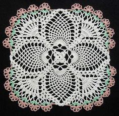 Crochet Pineapple Doily | Flickr – Compartilhamento de fotos!