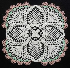 Crochet Pineapple Doily | Flickr – Compartilhamento de fotos!