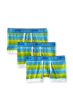 44% OFF 2(X)IST Men's No Show Trunk 3-Pack (Pool Print)