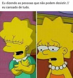 triste mas é minha realidade no momento, The Simpsons, Funny Cartoons, Funny Memes, Sad Life, Humor, Pretty Little Liars, Sad Quotes, Best Memes, Kawaii Anime