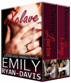 eXclave - a BDSM erotic romance bundle by Emily Ryan-Davis