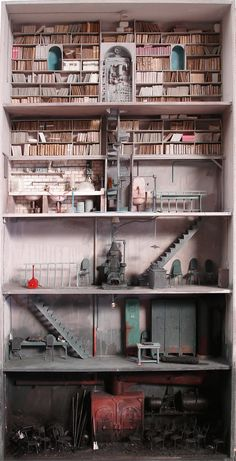 Just amazing. From Anita Leocadia (devidsketchbook: MYSTERIOUS TINY ROOMS BY MARC...)