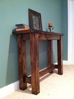 Exceptional Rustic Farmhouse Console Table By GeorgiaFarmhouse On Etsy, $325.00