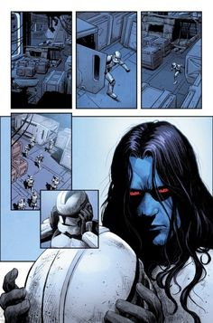 Grand Admiral Thrawn in — No. They asked me to grow my hair. Star Wars Comics, Star Wars Art, Star Trek, San Diego Comic Con, Thrawn Star Wars, Grand Admiral Thrawn, Star Wars Canon, Literary Characters, Sr1
