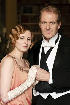 Lady Edith // Laura Carmichael & Sir Anthony Strallan // Robert Bathurst