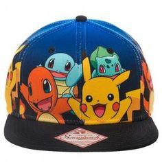 0956b56aa4e 11 Best Pokemon Hats and Snapback images