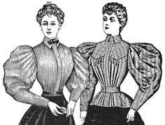 TV494 - 1894 Shirtwaists E-Pattern