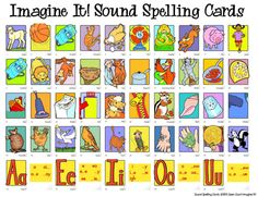 Sailing Through 1st Grade: Open Court Sound Spelling Cards Reference Sheet…