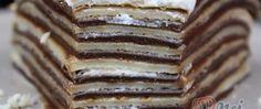 Recept Dvoubarevný palačinkový dortík s nutellou a šľehačkou Kefir, Nutella, Pancakes, Breakfast, Food, Morning Coffee, Essen, Pancake, Meals