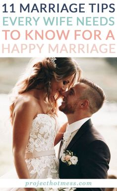 Learn how to have a strong and successful relationship with these tips every wife needs to know for a happy marriage (and every husband too).Marriage doesn't have to be hard work, but it does take conscious effort. Here are 11 tips every wife needs to know for a happy marriage. Marriage Tips, Happy Marriage, Marriage Relationship, Successful Relationships, Healthy Relationships, Need To Know, Hot Mess, Self Confidence, Is 11