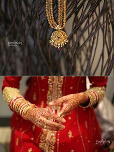 Henna on an #Indian bride's #wedding night
