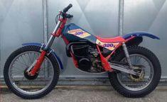 Motos Trial, Trial Bike, Vintage Motocross, Dirt Bikes, Trials, Motorcycles, Design, Templates, Dirt Biking
