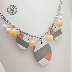 beton és ásvány nyaklánc Jewelry, Jewellery Making, Jewerly, Jewelery, Jewels, Jewlery, Fine Jewelry, Accessories