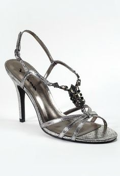 "High heel crystal sandal features:• 3"" heel• Multi Crystals• Adjustable ankle strap• Padded insole• Medium width avaialable"