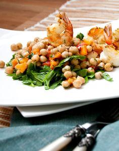 Aprikosen-Kichererbsen Salat mit Mandeldressing von Denise Renee
