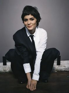 """""""Charm is more valuable than beauty. You can resist beauty, but you can't resist charm."""" - Audrey Tautou:"""