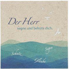 Haussegen mit irischem Segen Naturstein 14,5 x 14,5 cm ...
