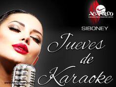 #antrosdemexico Hoy es jueves del mejor karaoke de Acapulco. ANTROS DE MÉXICO. Hoy es jueves de karaoke en Siboney de Acapulco, uno de los mejores de todo el puerto, pues cuenta con un gran repertorio que puedes cantar. Además, no hay cover y generalmente tienen excelentes promociones en bebidas. Si deseas obtener más información, te invitamos a visitar la página oficial de Fidetur Acapulco.