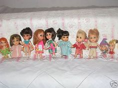 Liddle Kiddles Matel Dolls ~ what a great collection!!!