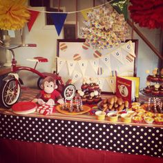 Ollie's Curious George party.