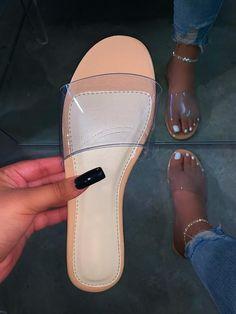 Please read shoe size description before placing your Bling Sandals, Sandals Outfit, Cute Sandals, Shoes Sandals, Shoes Sneakers, Pretty Shoes, Cute Shoes, Me Too Shoes, Slipper Sandals