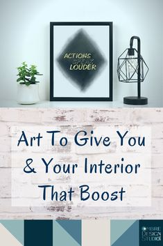 It is important to surround ourselves with positive things like beautiful and uplifting art. Actions Speak Louder, Motivate Yourself, Color Inspiration, Wealth, Motivational, Interior Decorating, Positivity, Interiors, Let It Be