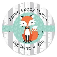 Mr. Foxy Fox - Baby Shower Theme | BigDotOfHappiness.com