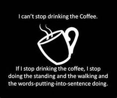 Coffee on a Monday... don't stop the coffee!