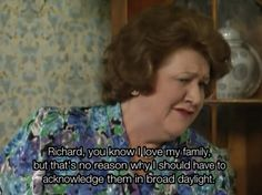 BBC Classic: Keeping Up Appearances. This show was funny shit. British Tv Comedies, British Comedy, English Comedy, Detective, Keeping Up Appearances, British Humor, Comedy Tv, Tv Quotes, Comedy Quotes