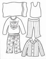Pajamas Coloring Page Super