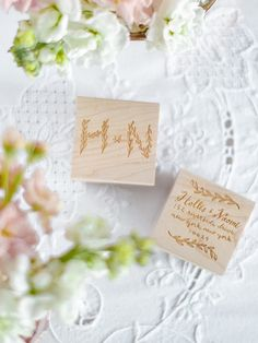 Need a gift idea? | Branches Monogram Custom Stamp | Sycamore Street Press
