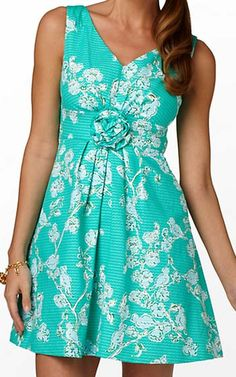 Lilly Pulitzer Parker Dress-This is what I bought to wear! :) :) :)