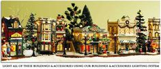 Oh!!! I love this!!!!Department 56: VILLAGE DISPLAY SOLUTIONS