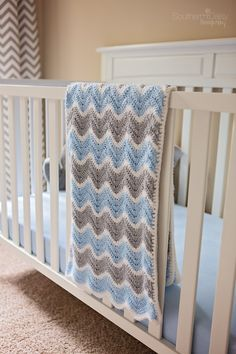 Chevron Baby Blanket Crochet Pattern