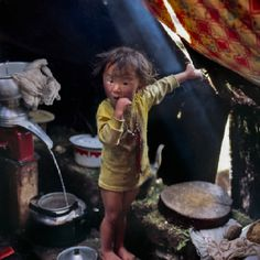 """Steve McCurry-1985 National Geographic Magazine-""""Where We Live"""""""