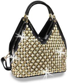 Christmas Bells Small Ornaments Womens fashion Handbags Shoulder Bags Handle Satchel