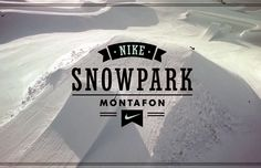 For the first time in history, Nike is building a one off snowpark, actually it's more like a winter wonderland that might resemble heaven for snowboarder, at Montafon! When this incredible snowpark is completely finished it will offer a total of 40 features that will accommodate riders of all skill levels. Snowboarding Videos, Juventus Logo, Winter Wonderland, It Is Finished, Heaven, The Incredibles, Nike, History, Building