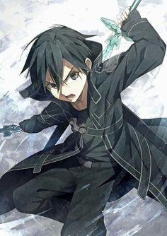 Is it bad that I have a crush on him? Kirito from sword art online