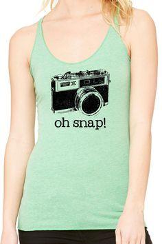 Oh Snap Ladies Tank