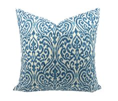 Beautiful Ikat Designer Throw Pillow, by Trellis Home Decor