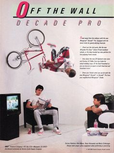 Mongoose Decade Pro advertisement featuring Rick Allison