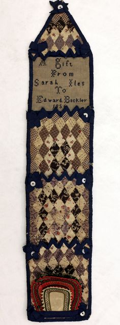 Mosaic Patchwork Huswife