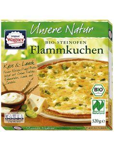 Wagner Flammkuchen Unsere Natur Käse & Lauch - Bio
