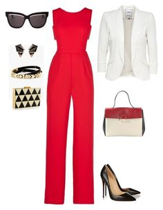 """настя 1"" by gnalibaeva on Polyvore featuring мода, BCBGMAXAZRIA, House of Harlow 1960, Christian Dior, Nak Armstrong, Valentino и Christian Louboutin"
