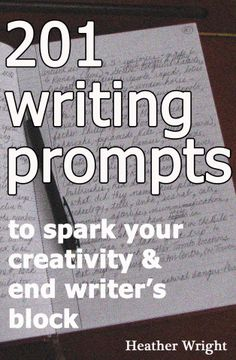 These are SUPER helpful! Here's an idea; write an entire story using these prompts in order.